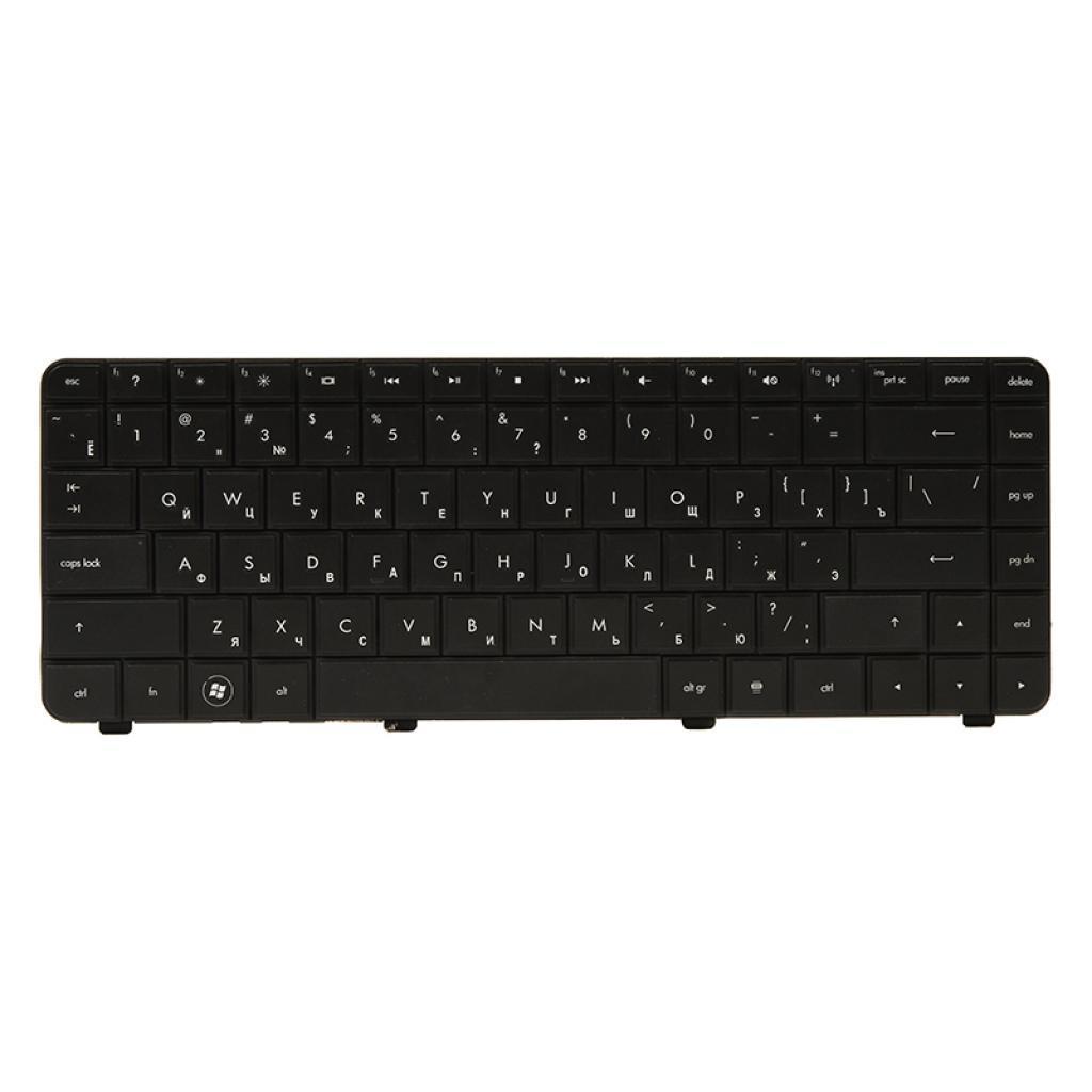 Клавіатура ноутбука PowerPlant HP Presario CQ42/G42 чорний,чорний (KB311743)