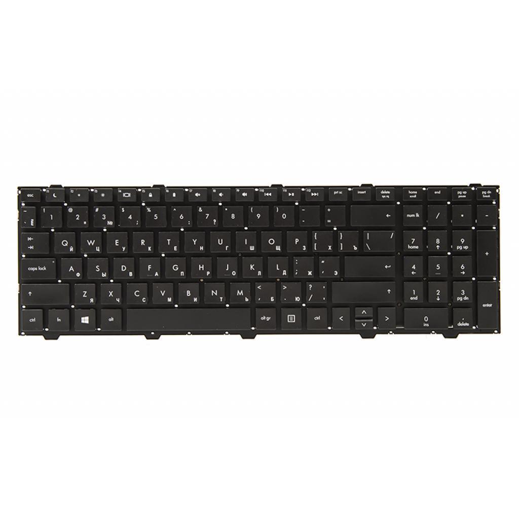 Клавіатура ноутбука PowerPlant HP ProBook 4540s/4545s/4740s чорний (KB311750)