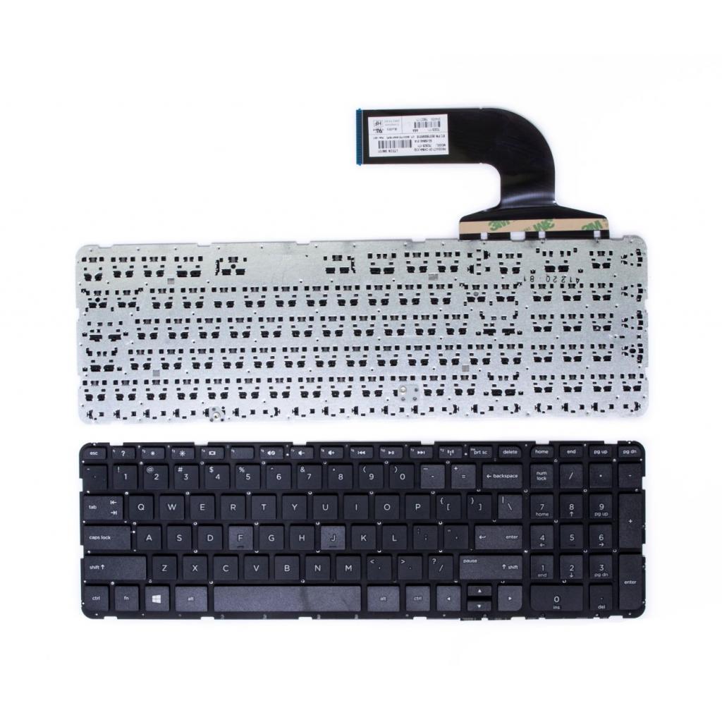 Клавіатура ноутбука HP 350 G1/355 G2 черн (KB310737)