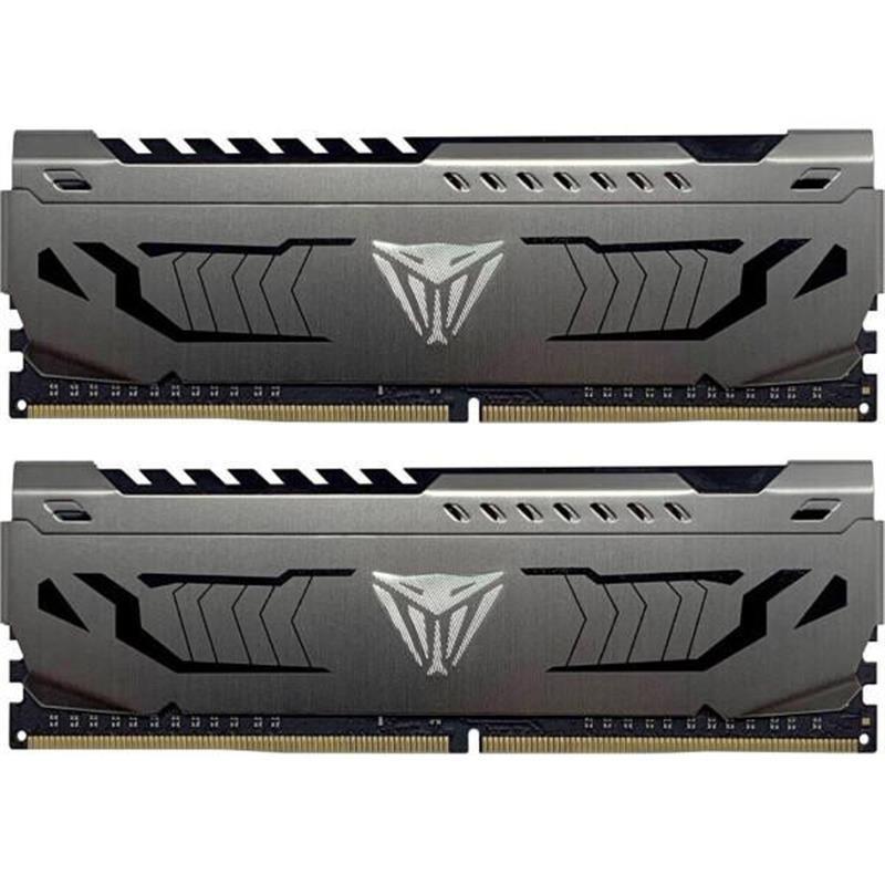 Модуль памяти DDR4 2х8GB/4000 Patriot Viper Steel Gray (PVS416G400C9K)