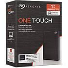 """Накопичувач зовнішній HDD 2.5"""" USB 1.0 TB Seagate One Touch Black (STKB1000400), фото 7"""