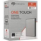 "Накопитель внешний HDD 2.5"" USB 1.0TB Seagate One Touch Silver (STKB1000401), фото 7"