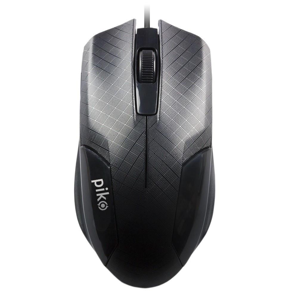 Миша Piko MS-017 (1283126472497) Black USB