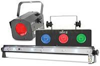 Простой прибор со звуковой активацией Chauvet JAM PACK SILVER