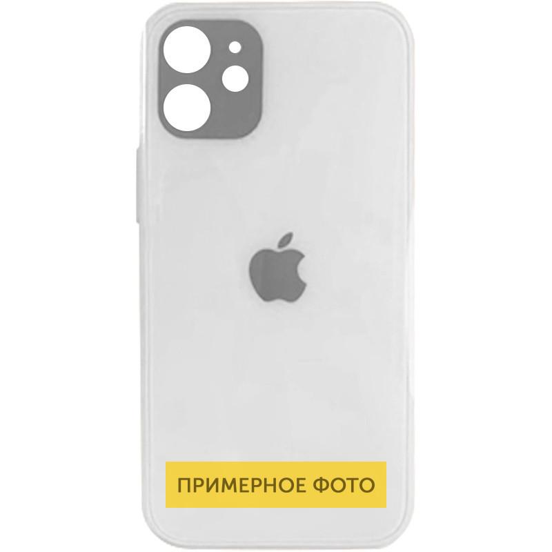 "TPU+Glass чехол GLOSSY Logo Full camera для Apple iPhone 12 (6.1"")"