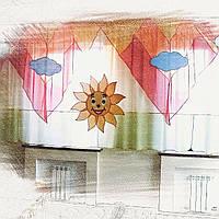 Пошив штор для детских садов