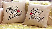 "Набор из двух подушек ""Kiss Me"""