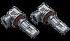 Светодиодные лампы LED-M6 55Вт 10000Лм 6500К 9-32v  PHILIPS ZES чип Цоколь H11, фото 3