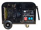 Трифазний бензиновий генератор DALGAKIRAN DJ 14000 BG-TE, фото 3
