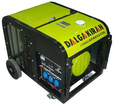 Трифазний бензиновий генератор DALGAKIRAN DJ 14000 BG-TE