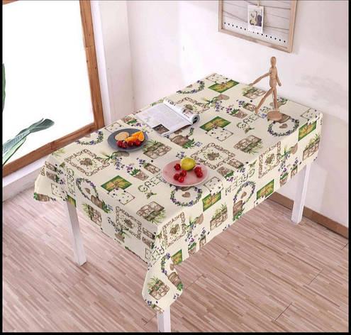 Клеенка на тканевой основе для дома и кафе на метраж, ширина 140см, фото 2