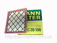 Фильтр воздушный Mann C26106 Opel Astra J Chevrolet Cruze/Orlando
