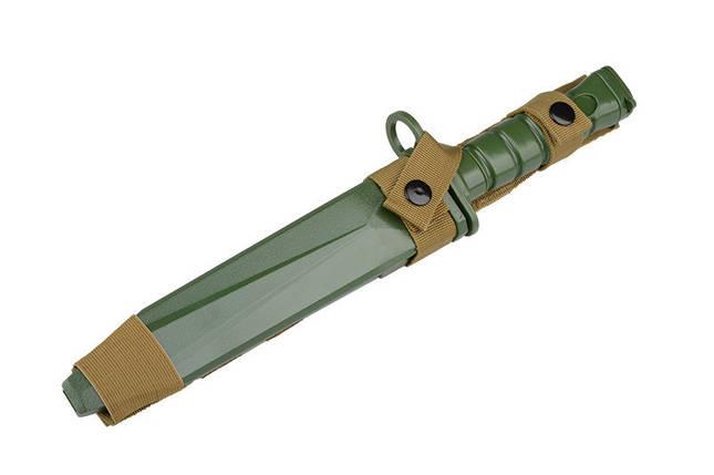 Нож тренировочный M10 - OLIVE [ACM] (для страйкбола), фото 2