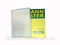 Фильтр салона Mann CU3780 MERCEDES: A CLASS (168) (97>2003) 1.4I, 1.6I, 1.7CDI, 1.9I, 2.1I;VANEO (41