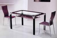 Стол стеклянный  Клод B206-2
