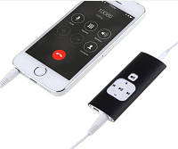 Портативный цифровой диктофон с 512 Mb памяти, 500 часов для записи разговоров с мобильного телефона