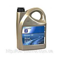 Моторное масло General Motors Dexos-2 5W30 5 литров