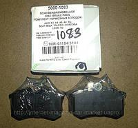 Тормозные колодки задние Profit 5000-1083 Audi A3, A4, A6, A8 95- Seat IbizaToledo Cordoba Leon 02-