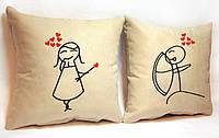 """Набор из двух подушек """"Стрела любви"""""""