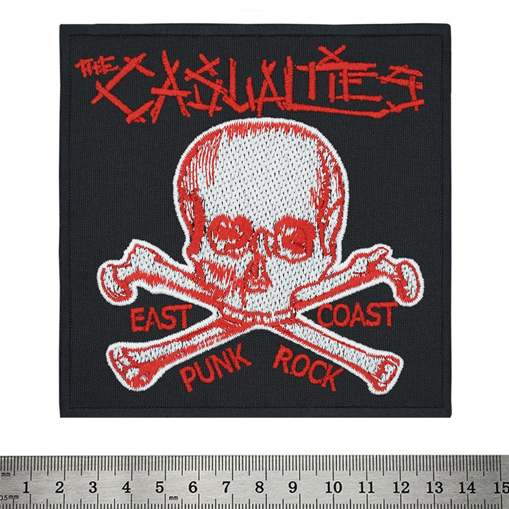 Нашивка The Casualties (East Coast Punk Rock)