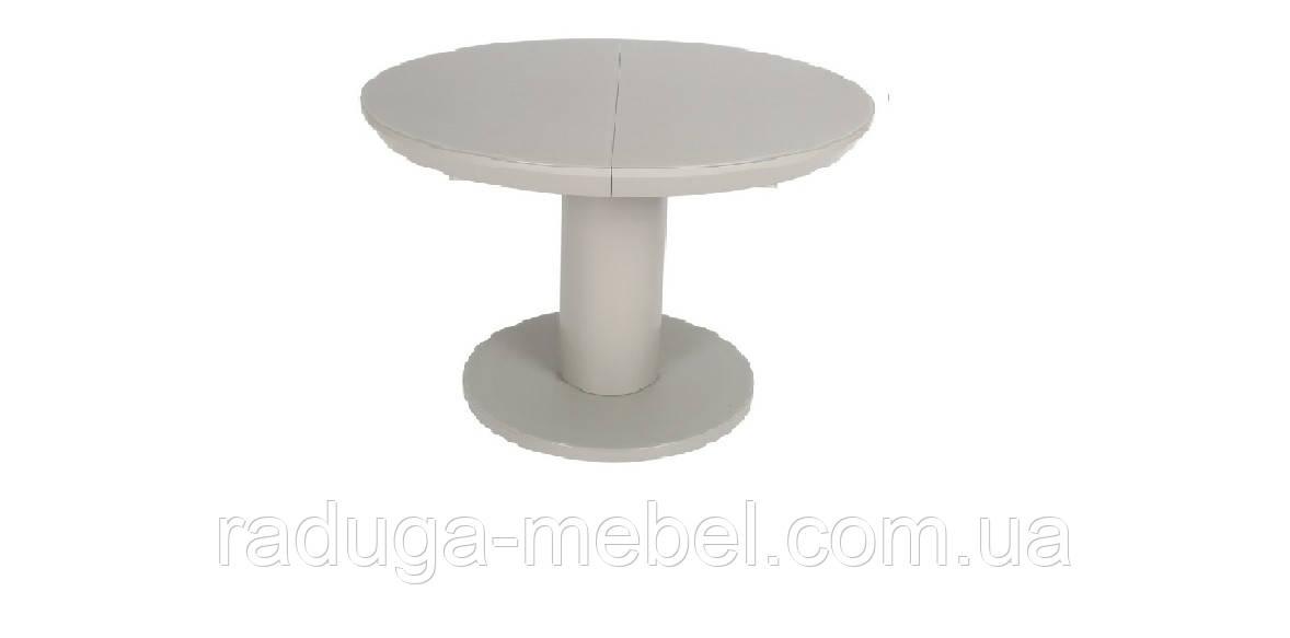 Стол МДФ+матовое стекло TML-519 капучино