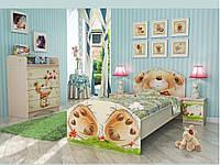 """Детская  кровать 190*90 см """"Медвежонок"""""""