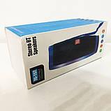 Портативная bluetooth колонка влагостойкая TG-157 Pulse с разноцветной подсветкой. Цвет: бирюзовый, фото 2