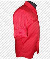 Корпоративная одежда. Рубашка корпоративная красная