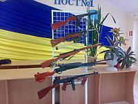 Коллекция Оружия из дерева