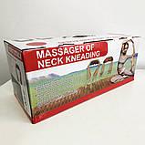Роликовый массажер для спины и шеи massager of neck kneading, фото 4