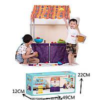 Палатка детская игровая RE333-23  домик-прилавок