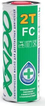 Масло XADO 2T FC (синтетика) 1л XA 20116