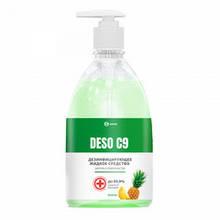 """Дезінфікуючий засіб GRASS """"DESO C9"""" ананас фо.500мл 125567"""