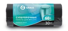 Мешок для мусора Grass в рулоне 60л (65*55) 30шт PP-0021