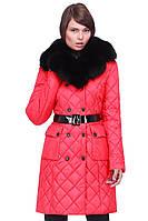 Стильное женское зимне пальто.