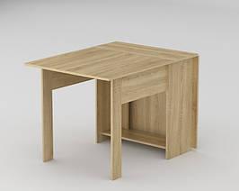 Стол книжка кухонный трансформер раскладной Компанит КС - 1