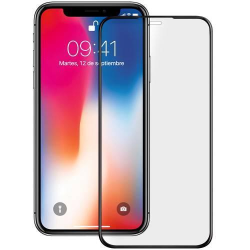 Захисне скло 5/9/10/21D для iPhone Х Xs 11 Pro - чорне
