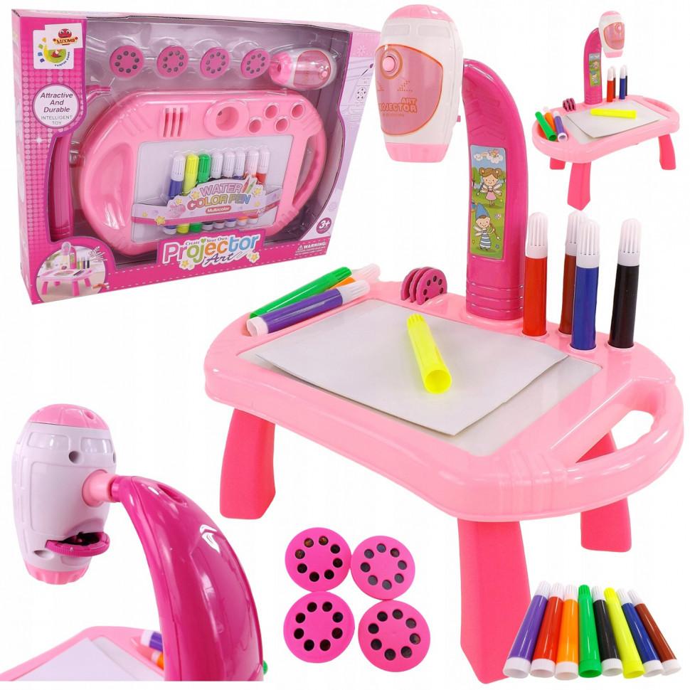 Проектор для малювання 22088-17AB (Рожевий)
