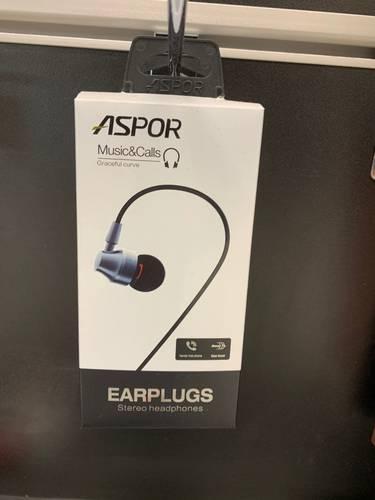 Навушники з мікрофоном Aspor - A203