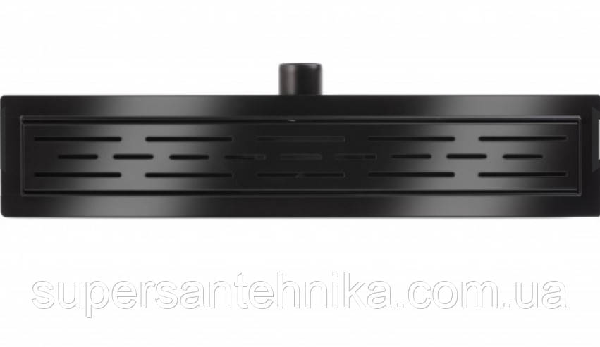 Трап душевой чёрный Epelli Neo Pro Classic 90 cm