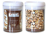 Контейнер герметичний для продуктів круглий easy lock 1,7л, фото 1