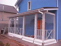 Прозрачные шторы ПВХ для Вашей веранды.