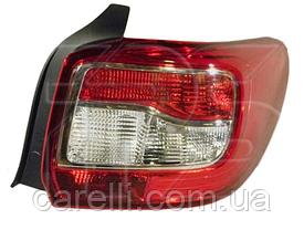 Фонарь задний правый SDN светлый (P21/5W+PY21W+P21W) для Renault Logan 2013-17