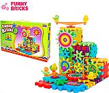 3D конструктор Funny Bricks для дітей розвиваючий пластмасовий конструктор Фанні Брікс, фото 2