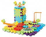 3D конструктор Funny Bricks для дітей розвиваючий пластмасовий конструктор Фанні Брікс, фото 5