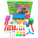3D конструктор Funny Bricks для дітей розвиваючий пластмасовий конструктор Фанні Брікс, фото 7