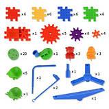 3D конструктор Funny Bricks для дітей розвиваючий пластмасовий конструктор Фанні Брікс, фото 8