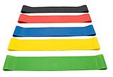 Резинки для фитнеса | эспандер резинки тренажер лента сопротивления 1 шт, фото 9