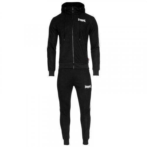 Мужской спортивный костюм Lonsdale 114059-1500 Black/White