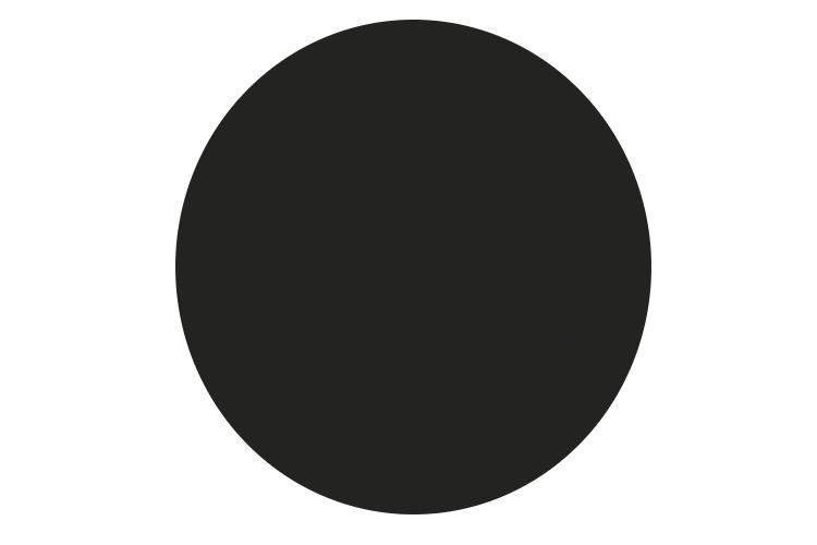 Cтільниця  d60см Black Topalit